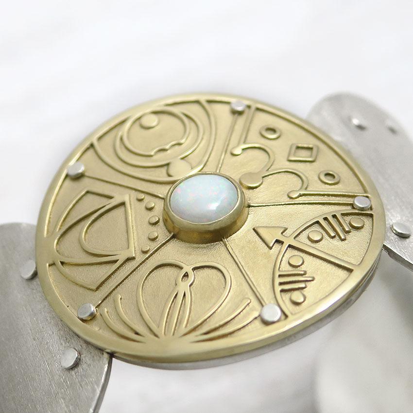 Zapestnica-medaljon-pet-arhetipov-opal