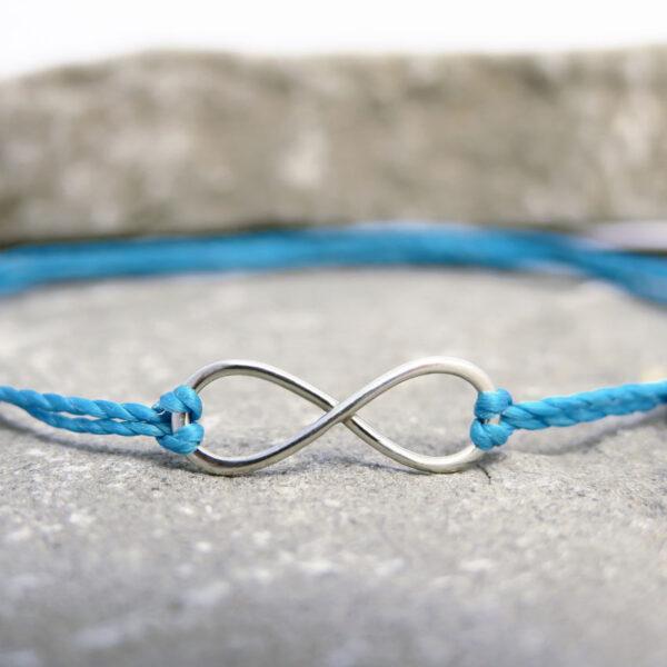 Zapestnica-infinity-turkizna-vrvica