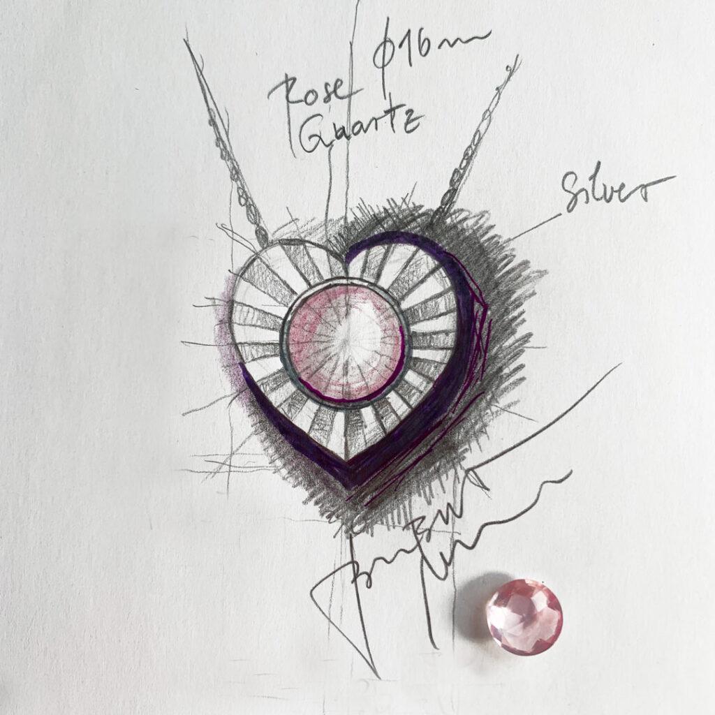 Skica-intuitivni-nakit-zarece-srce-rozevec